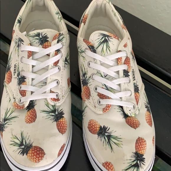 100% autentyczny gorąca sprzedaż online topowe marki Pineapple Vans